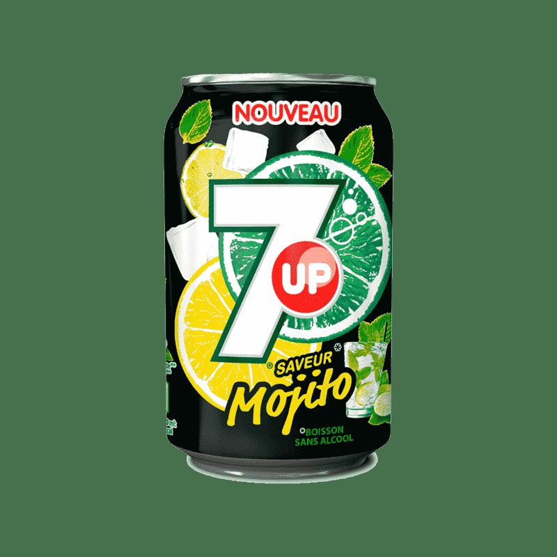 7 UP Mojito 33cl - Spécial Thaï
