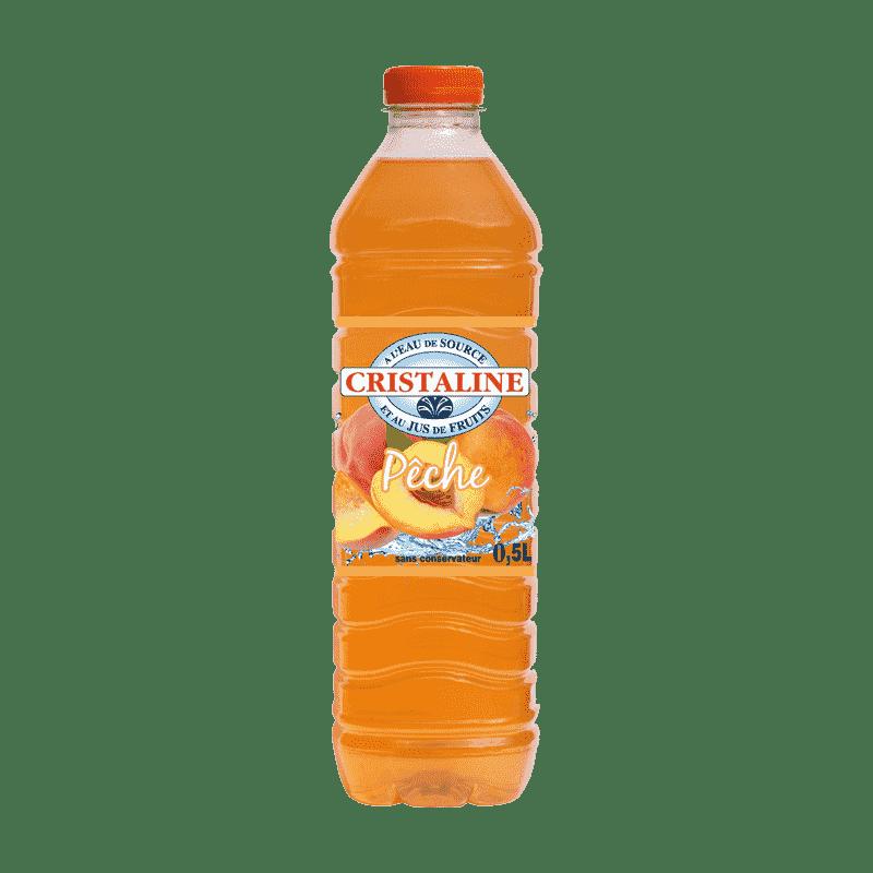 Cristaline Pèche 50cl - Spécial Thaï