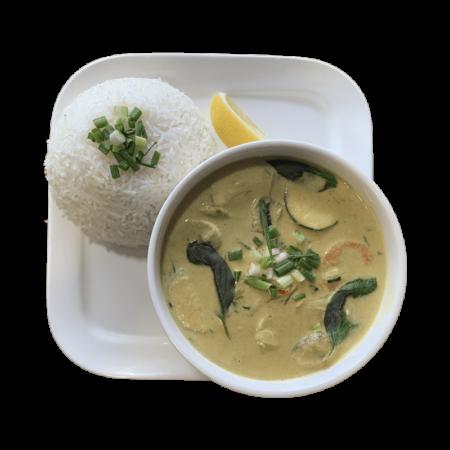 Curry Vert Spécial Thaï