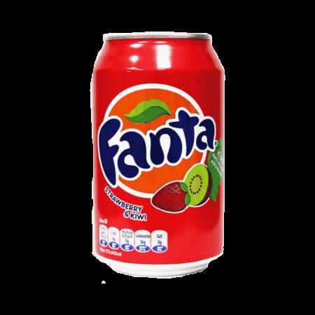 Fanta Fraise Kiwi 33 cl - Spécial Thaï